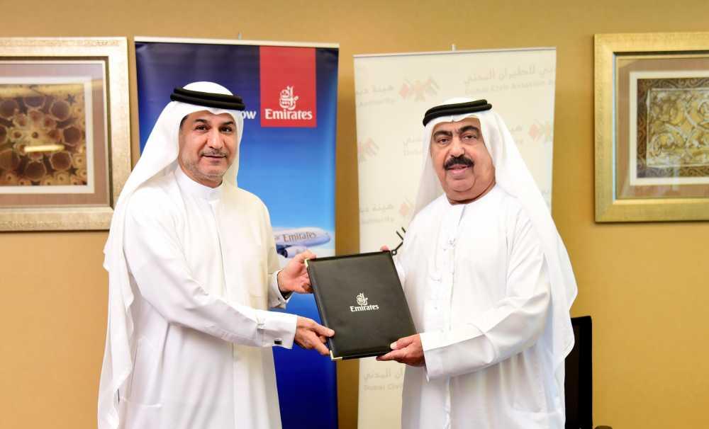 Emirates ve Dubai Sivil Havacılık Kurumu'ndan İnovasyon Sözleşmesi