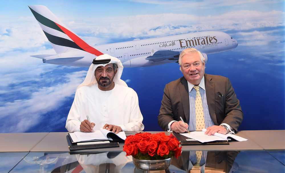 Emirates'ten 16 milyar dolar değerinde A380 siparişi!
