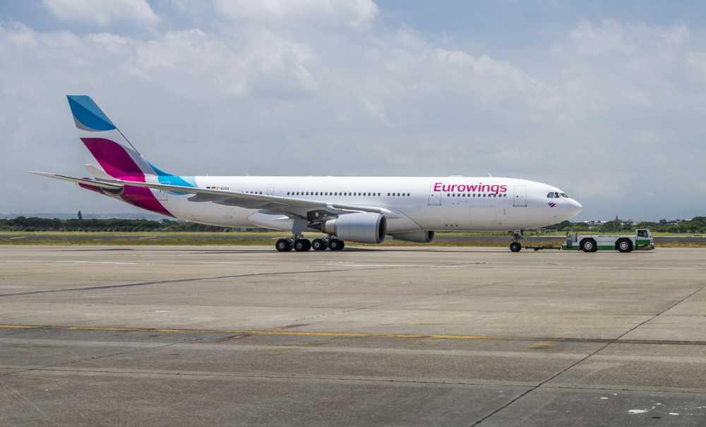 Eurowings, Almanya içi Uçuşlarını Arttırıyor