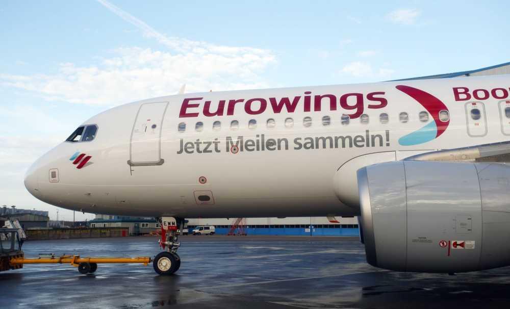 Eurowings, Ren Nehri'nden Güney Afrika'ya uçacak
