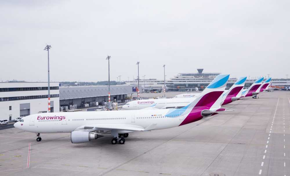 Eurowings'ten iki yeni destinasyon: Windhoek ve Montego Bay