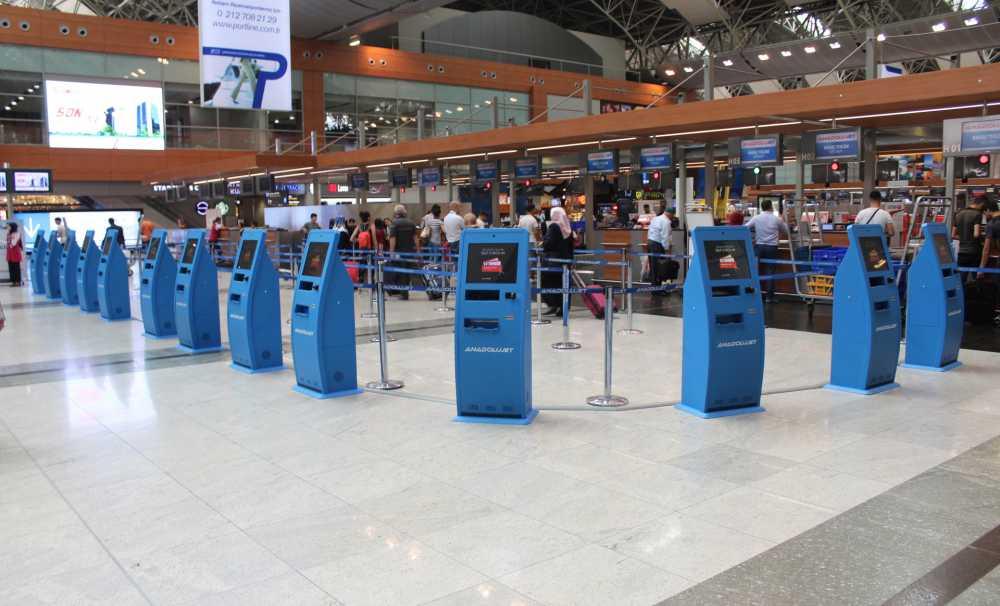 Havalimanında sıra bekleme derdine son