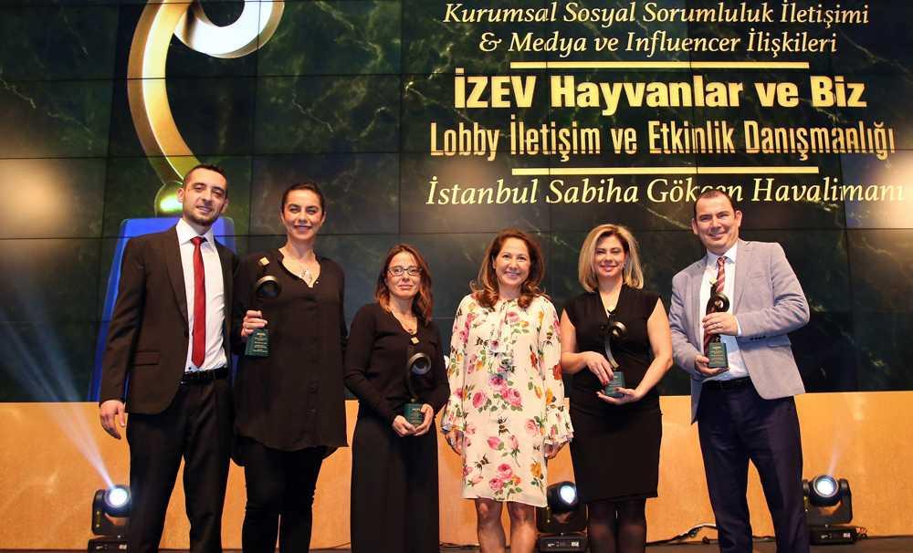 İstanbul Sabiha Gökçen Uluslararası Havalimanı'na Prida'dan 4 Ödül