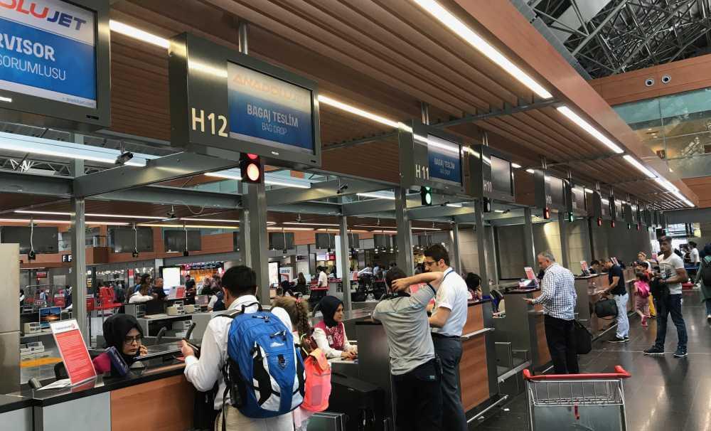 Istanbul Sabiha Gökçen'de yolcu dostu uygulamalar sürüyor