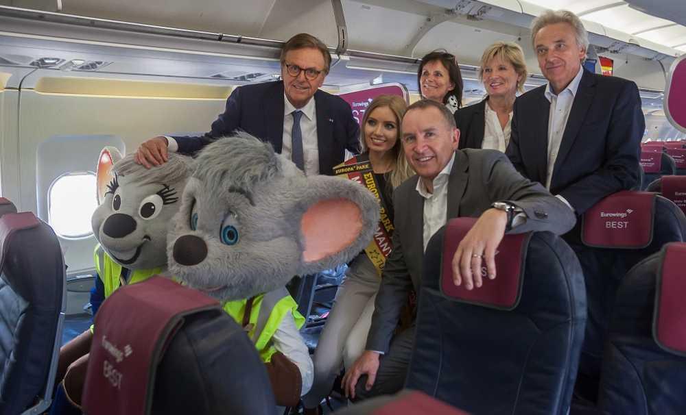 Maskot Ed ve Edda şimdi sadece Eurowings ile uçuyor