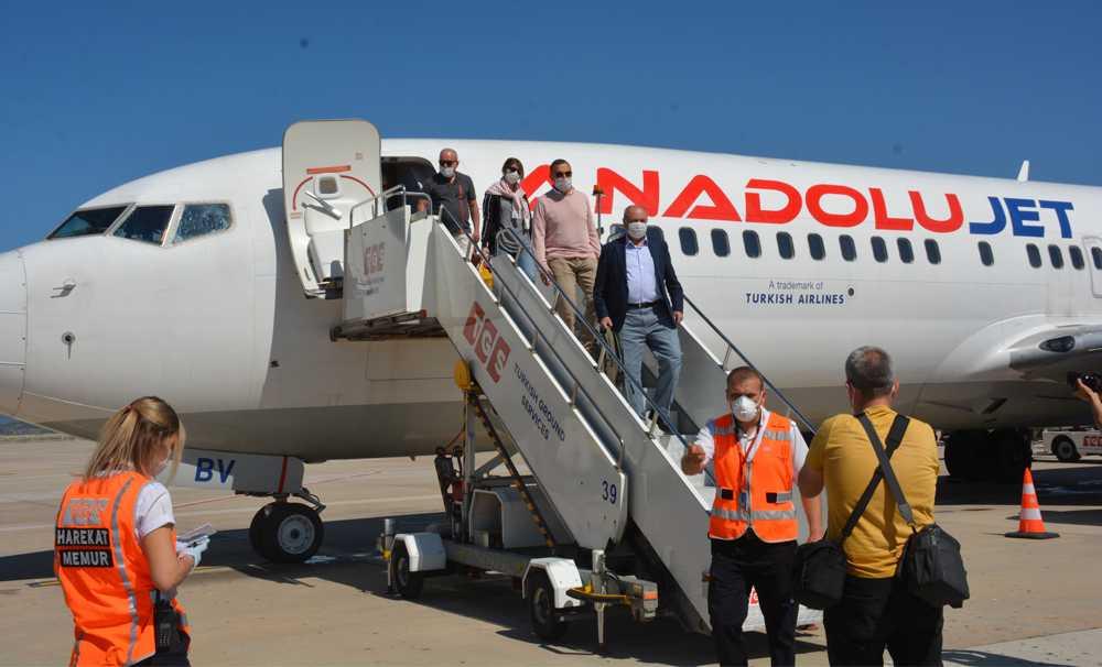 Milas-Bodrum Havalimanı'ndan tarifeli iç hat uçuşları başladı