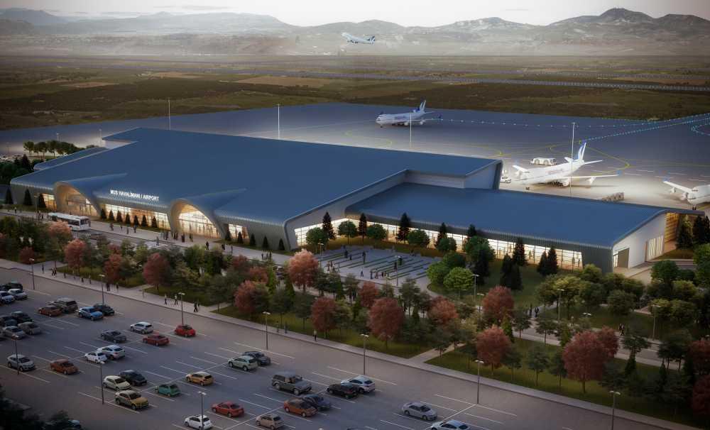 Muş Havalimanı'nın Temel Atma Töreni Gerçekleştirildi