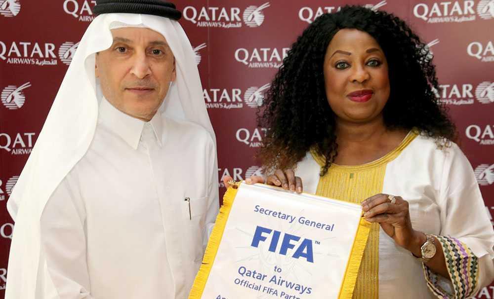 Qatar Airways, 2022'ye kadar FIFA'nın resmi ortağı ve resmi havayolu olacak