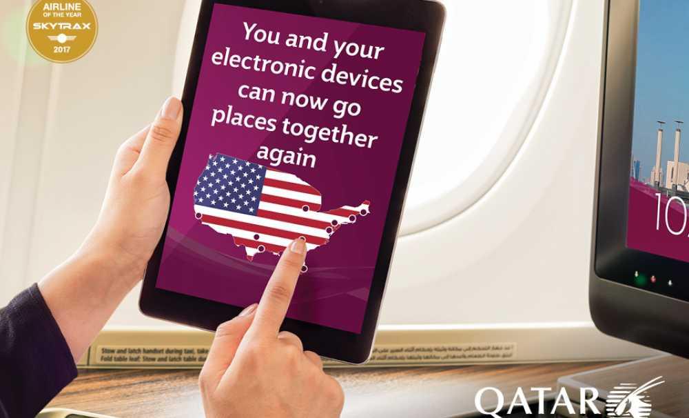 Qatar Airways'ten Tüm Kişisel Elektronik Cihazlara İlişkin Açıklama