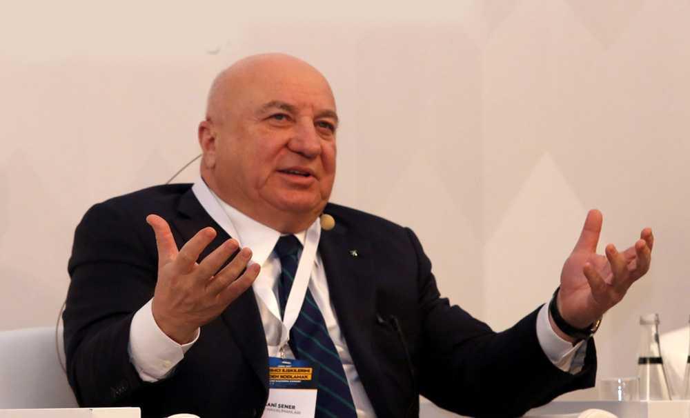 Sani Şener TÜYİD Zirvesi'nde konuştu