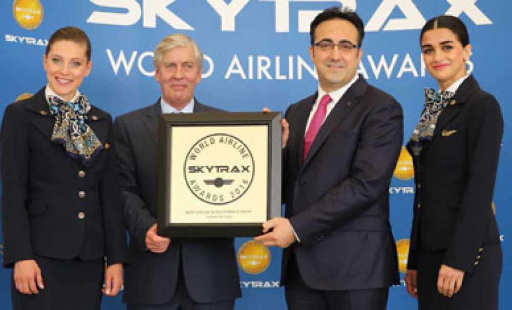 Türk Hava Yolları, üstü üste altıncı kez 'Avrupa'nın en iyi havayolu' seçildi