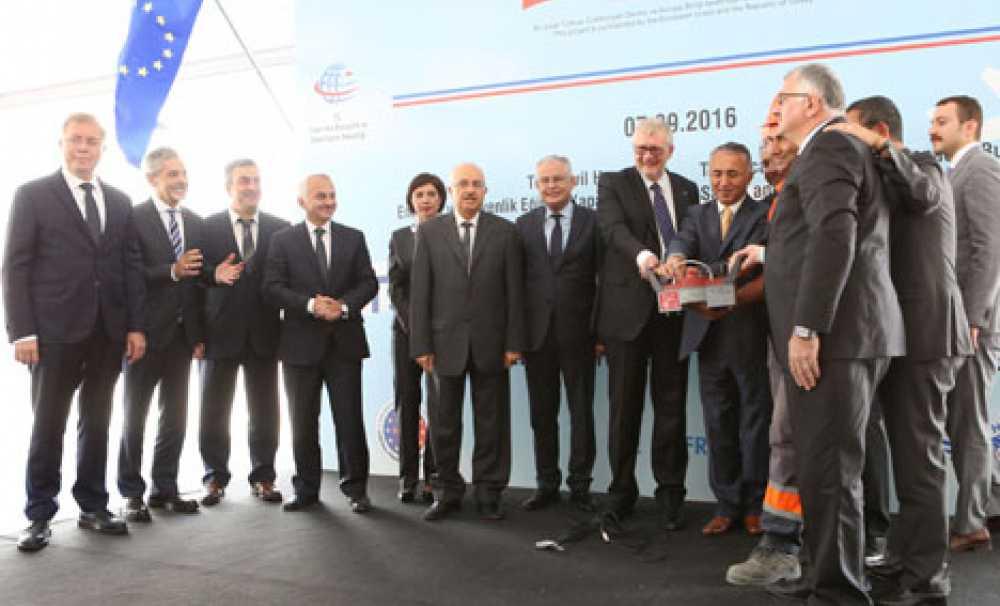 Türk Sivil Havacılık Akademisi'nin temeli, düzenlenen bir törenle atıldı