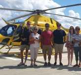 Kapadokya'da Balon, İstanbul'da Helikopter Turu