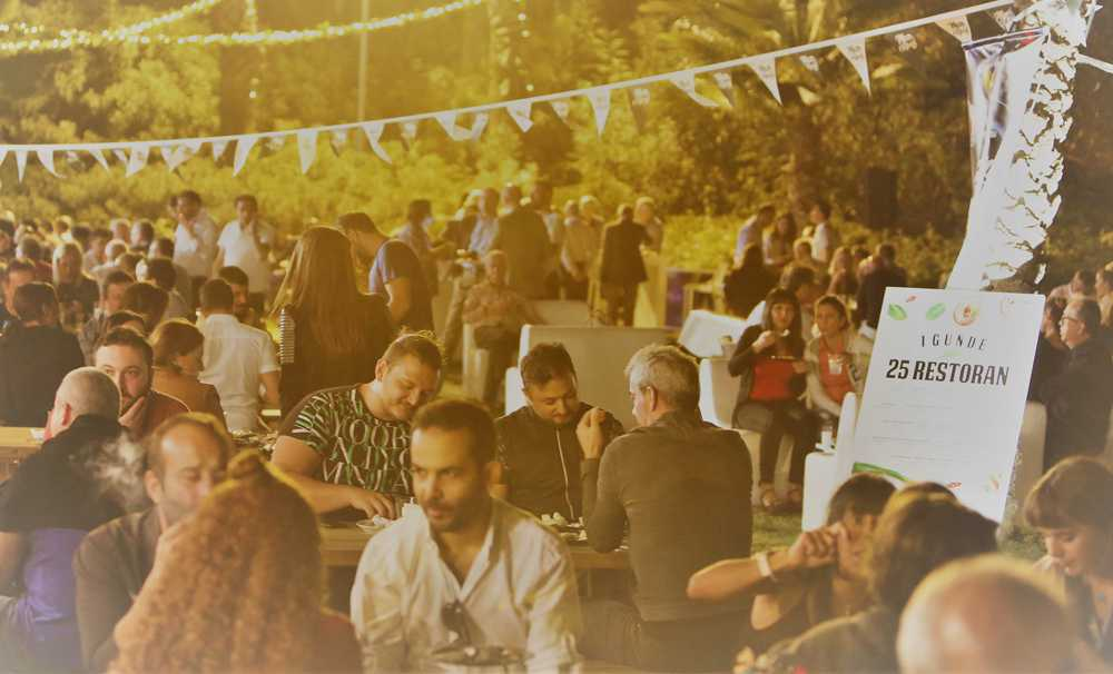 Antalya, 2. Uluslararası Meze Festivali'ne bir kez daha ev sahipliği yapıyor
