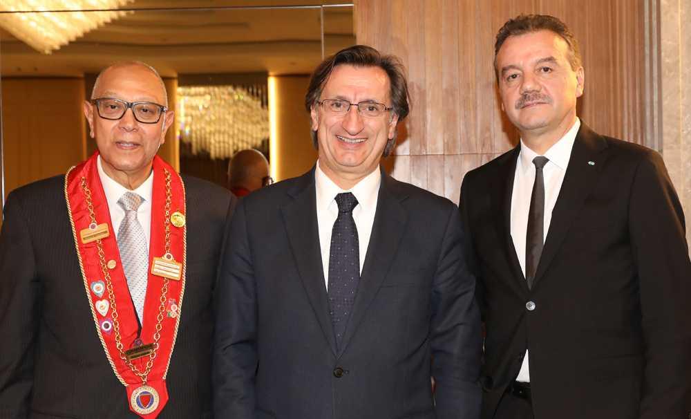 Chaîne des Rôtisseurs Üyeleri İstanbul'da buluştu