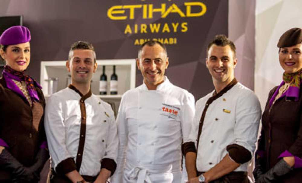 Etihad Airways, dünya çapındaki birinci sınıf şefler bir araya getirdi