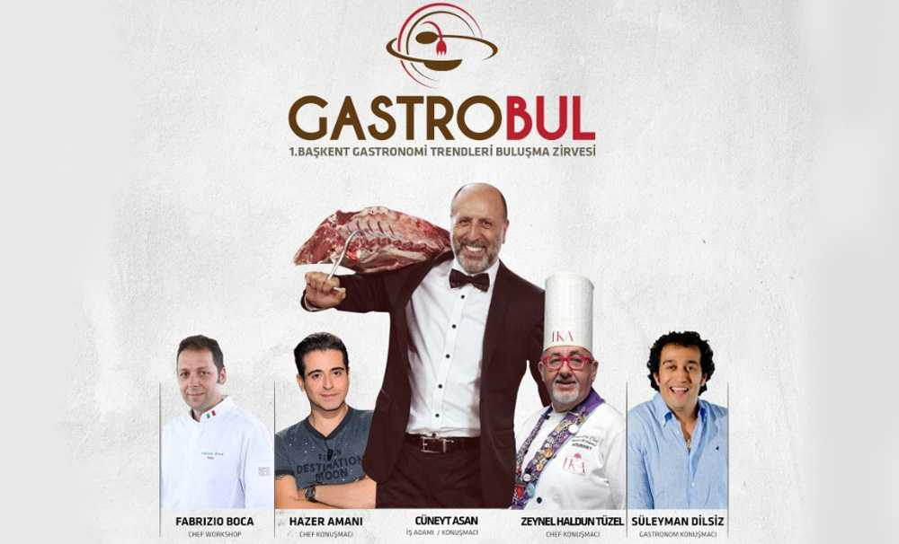 Gastrobul-I. Başkent Gastronomi Trendleri Buluşma Zirvesi' düzenlenecek