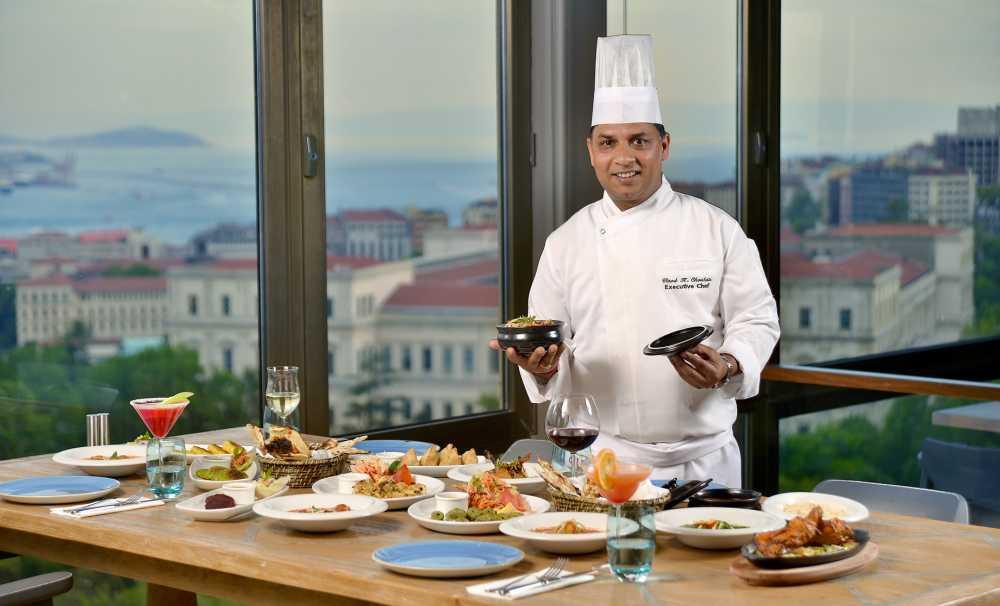 Hint Mutfağının En Seçkin Lezzetleri Hilton İstanbul Bosphorus'ta