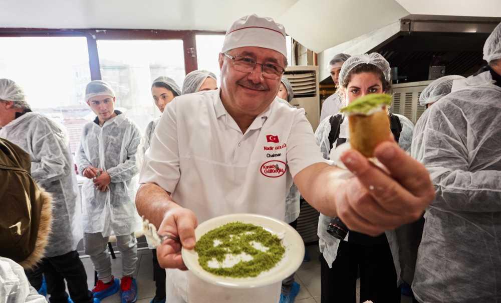 Michelin Yıldızlı Şefler Karaköy Güllüoğlu'nda