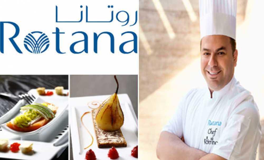 Rotana'nın Ödüllü Şefi Rafet İnce'den Chef's Table
