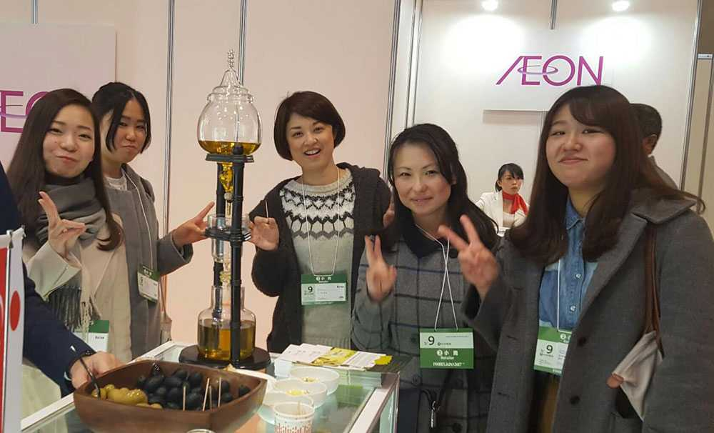 Türk zeytinyağı Japon sofralarının baş tacı