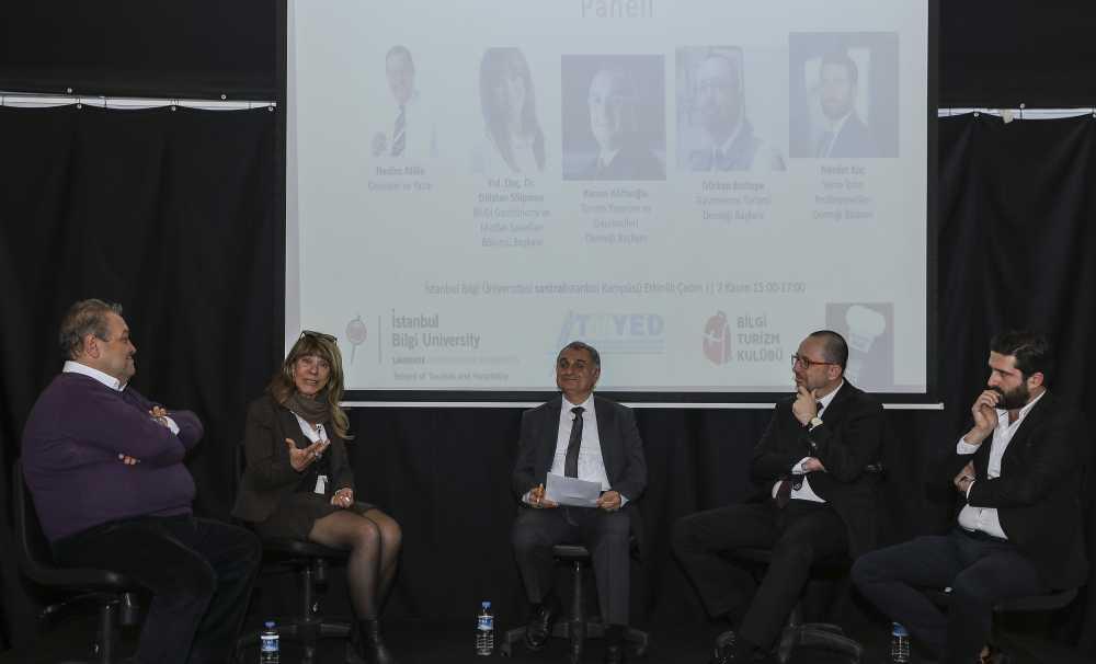 Türkiye'nin Gastronomik Geleceği İstanbul Bilgi Üniversitesi'nde Tartışıldı
